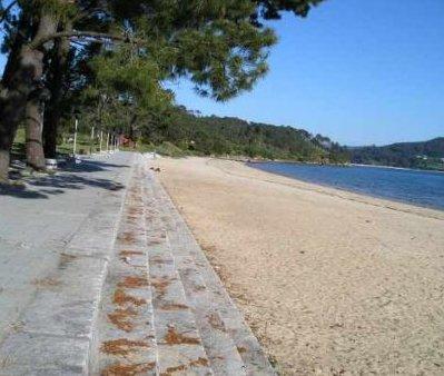 Paseo playa Broña